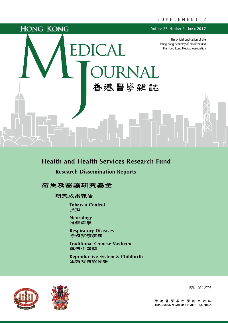 HKMJ - Volume 23 Issue 3 Supplement 2