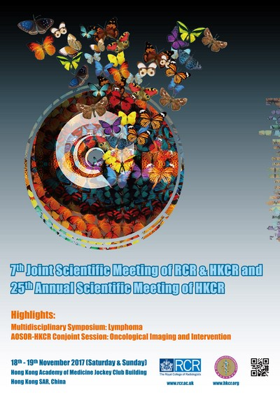 7th Joint Scientific Meeting of RCR & HKCR and 25th ASM of HKCR