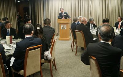 Council Dinner with Medical Organisations