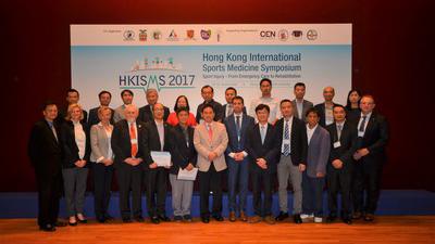 Hong Kong International Sports Medicine Symposium, 30 September 2017