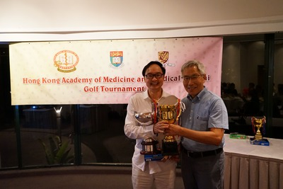 Congratulations to Dr. Dennis Mak for winning the HKAM President's Cup.