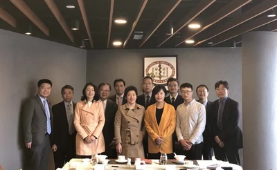 Visit from Zhejiang University, 6 December 2017