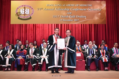 Presentation of Honorary Fellowship