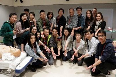 Medical Moulage and Mock-up Workshop, 9 December 2017
