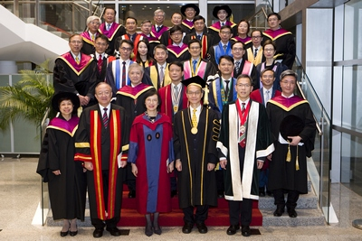 26th Admission of New Members and New Fellows Ceremony of the Hong Kong College of Paediatricians, 2 December 2017