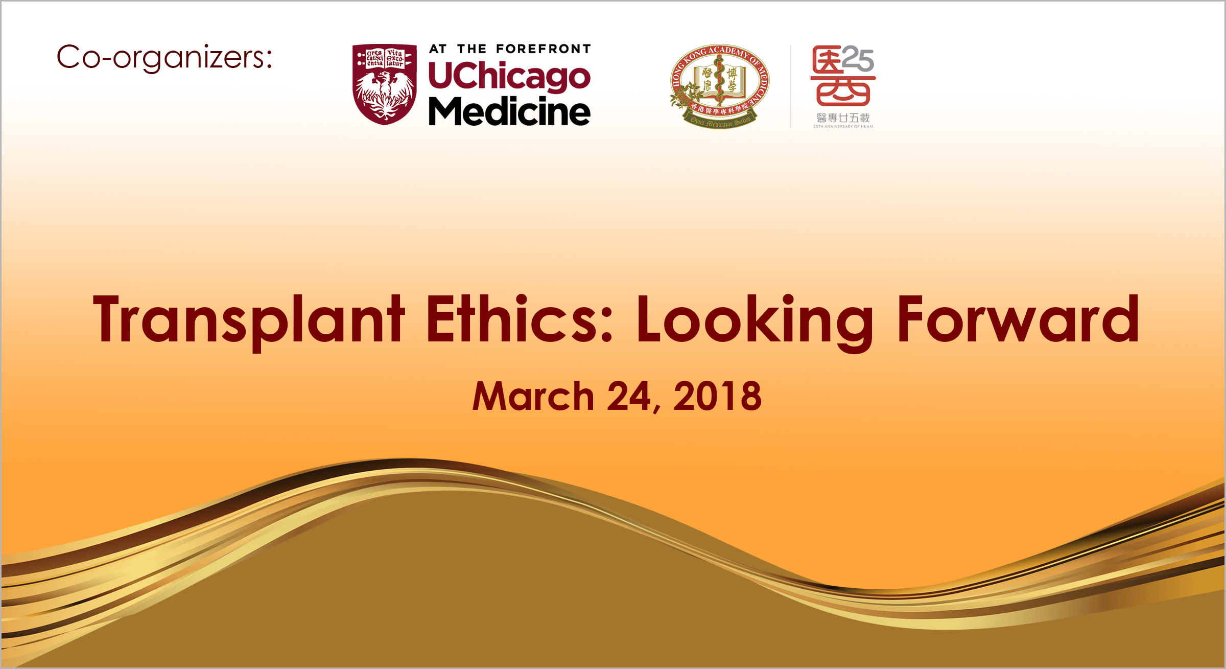 Transplant Ethics: Looking Forward