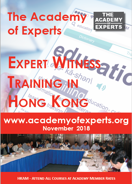 Expert Witness Training Courses
