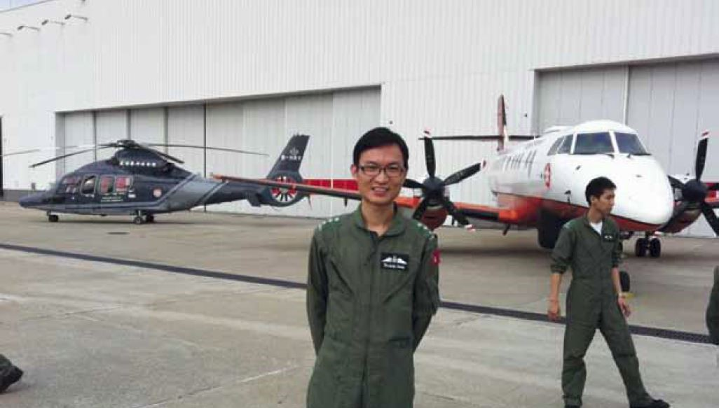 Part of a larger whole: serving in the Government Flying Service. An interview with Dr Ralph Cheung