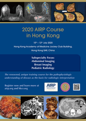 2020 AIRP Course in Hong Kong, 10-12 July 2020